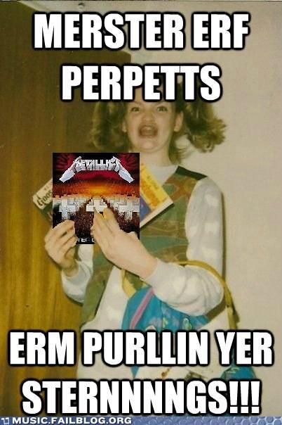 90s album Master of Puppets metallica - 6128512768