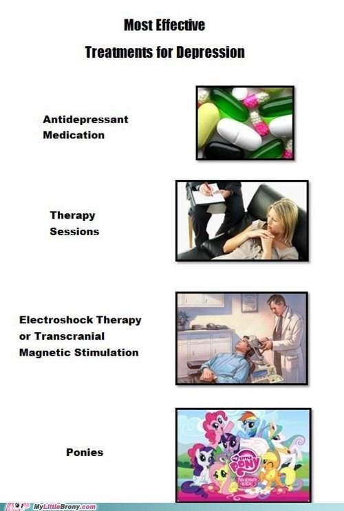 depression meme ponies smile smile smile therapy treatment - 6128552704
