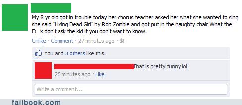Music parenting Rob Zombie school - 6128615936