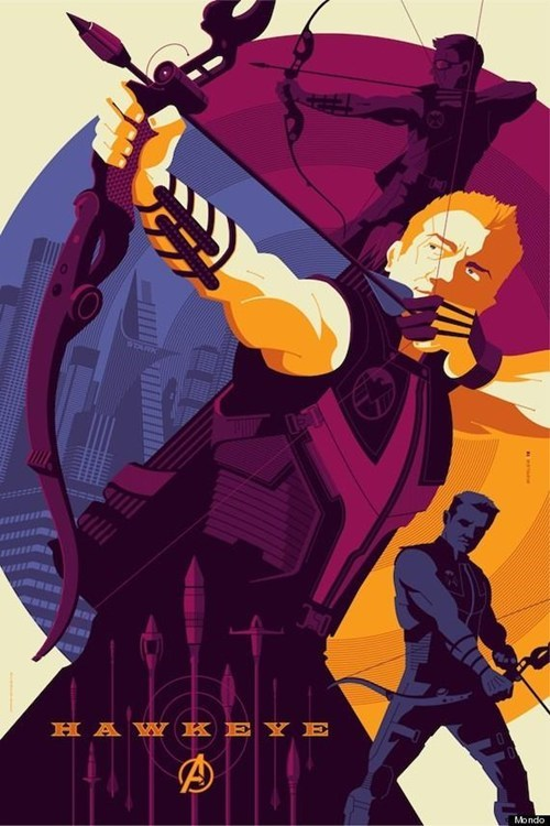 Alamo Drafthouse,Black Widow,Fan Art,hawkeye,mondo,mondo posters,Olly Moss,The Avengers