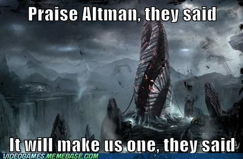altman,dead space,meme,They Said
