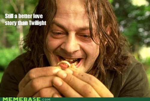 couple Lord of the Rings Memes perfect still a better love story twilight - 6128809472