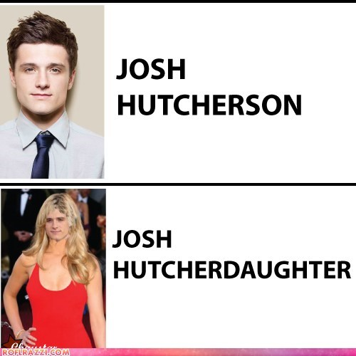 actor celeb funny josh hutcherson - 6128876288