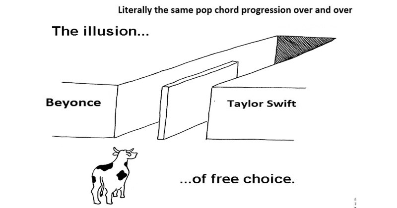 democrats Republicans slaughterhouse donald trump Hillary Clinton illusion of free choice comics about life choices outcome cows politics web comics taylor swift beyoncé mexican food - 6128901