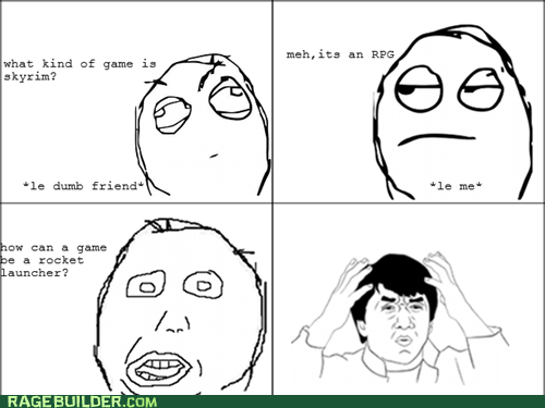 Rage Comics RPG video games wtf - 6128905728