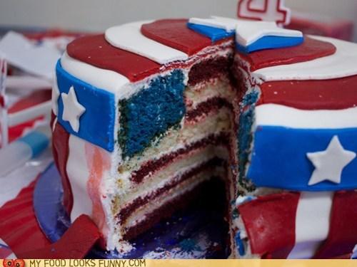 american,cake,captain america,flag,patriotic