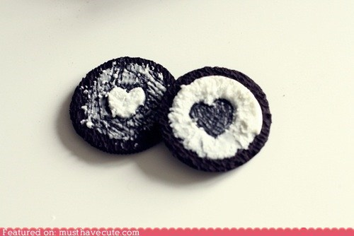 chocolate cookies cream epicute heart oreo surgery - 6129250560