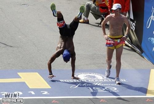 BAMF,handstand,marathon,sports