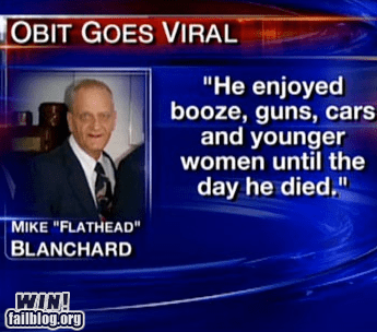 alcohol BAMF booze obituary old people rock