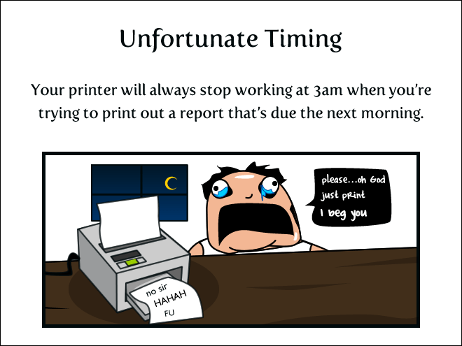 miserable printers hell web comics - 6129413