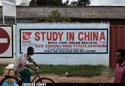 China dreams reality study abroad