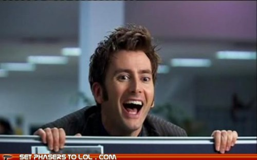birthday David Tennant doctor who happy birthday smile the doctor - 6129536000