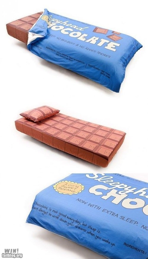 bed,chocolate,clever,design,g rated,win