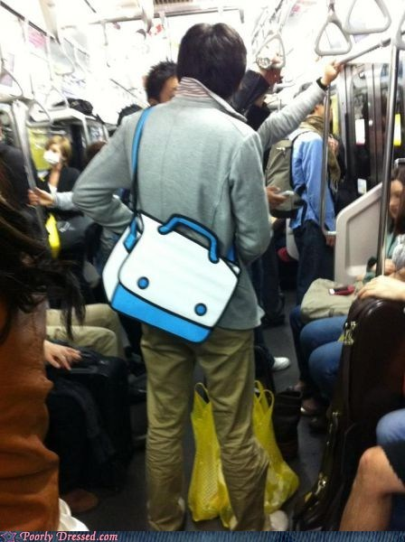 bag clever design illusion Subway