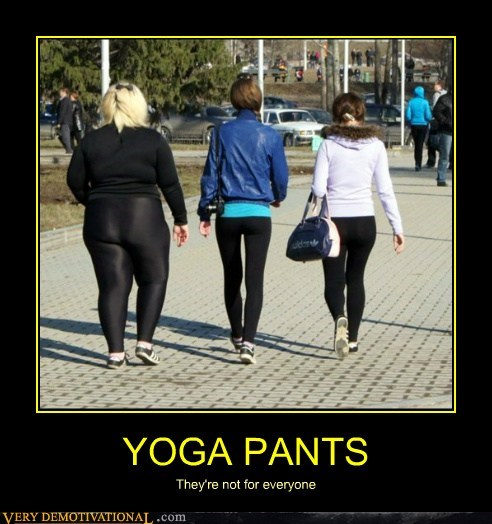 Booty Everyone Hilariousy La S Yoga Pants