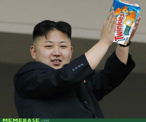 health,kim jong-un,Memes,North Korea,twinkies