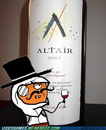 altair,assassins creed,sir,meme,wine