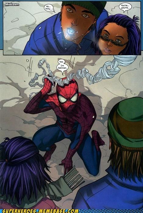 batman identity kids Spider-Man Straight off the Page - 6129982720