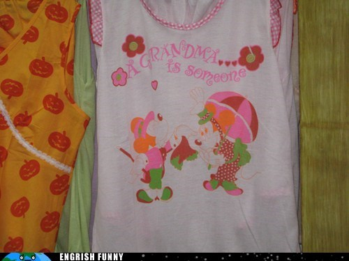 clothes clothing grandma shirt - 6130023168