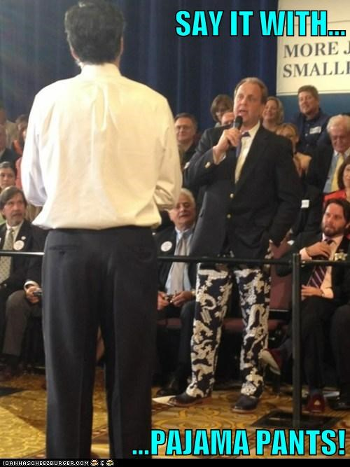 Mitt Romney pajamas political pictures - 6130109184