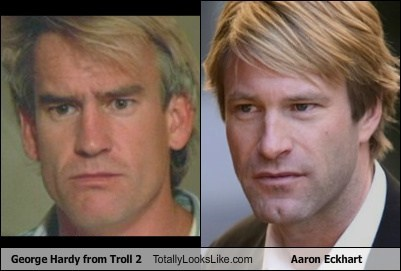 aaron eckhart,actor,celeb,funny,george hardy,Hall of Fame,TLL