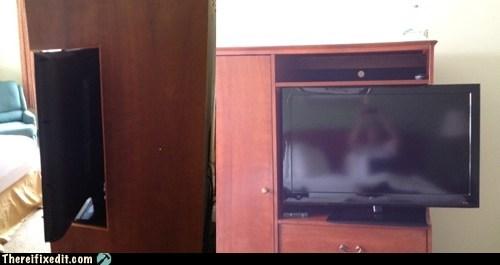 bedroom dresser flat screen HDTV LCD TV TV - 6131709952