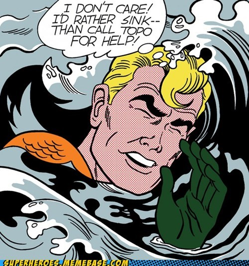 aquaman bizarre drowning Straight off the Page wtf - 6132207616