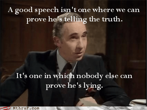 bad speech good speech lie lying public speaking speech telling the truth truth