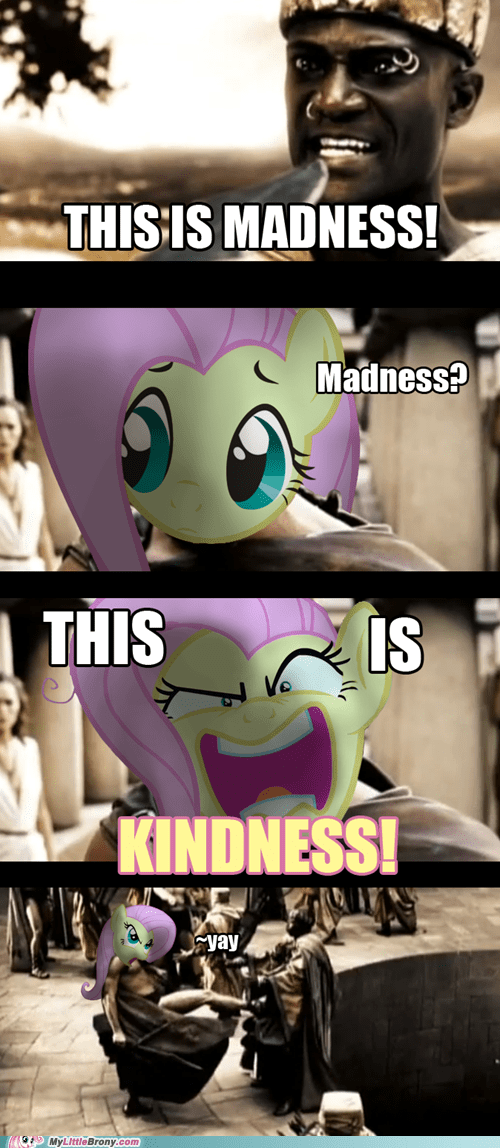 300,angel,comic,comics,crossover,fluttershy,madness,sparta