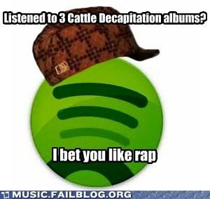 cattle decapitation,metal,rap,spotify