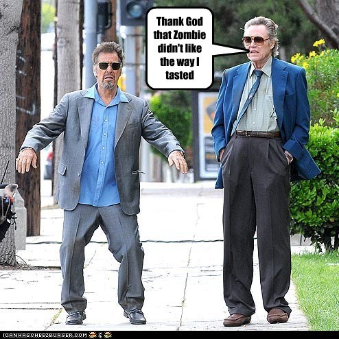 actor al pacino celeb christopher walken funny - 6132722176