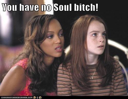 actor,celeb,funny,lindsay lohan,Tyra Banks