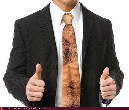 best of week classy hairy chest tie wtf - 6133215488