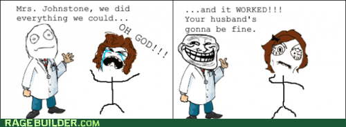 doctor,hospital,Rage Comics,troll