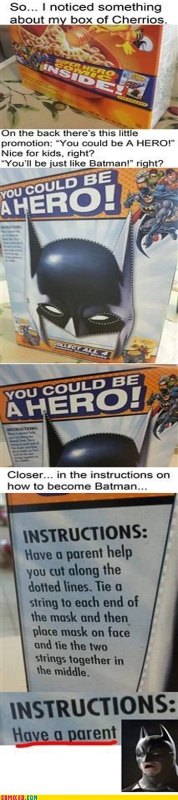 best of week cereal heartless instructions mask parents super heroes the internets