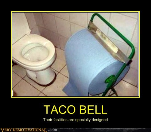 design facilities hilarious taco bell toilet paper - 6133820928