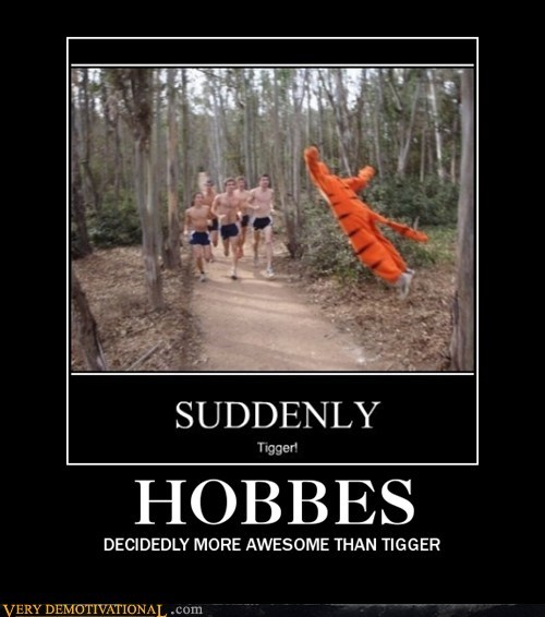 awesome hobbes Pure Awesome tigger - 6134090752