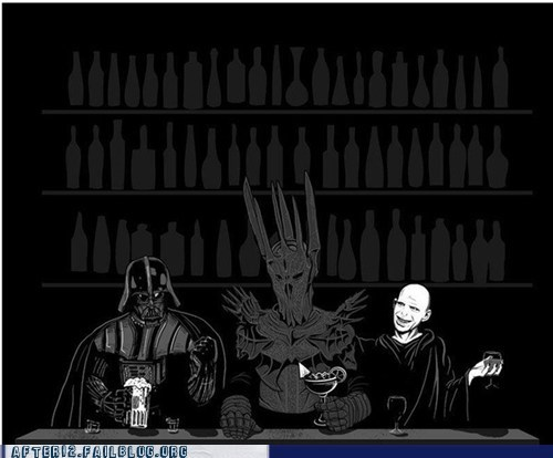 darth vader,sauron,voldemort