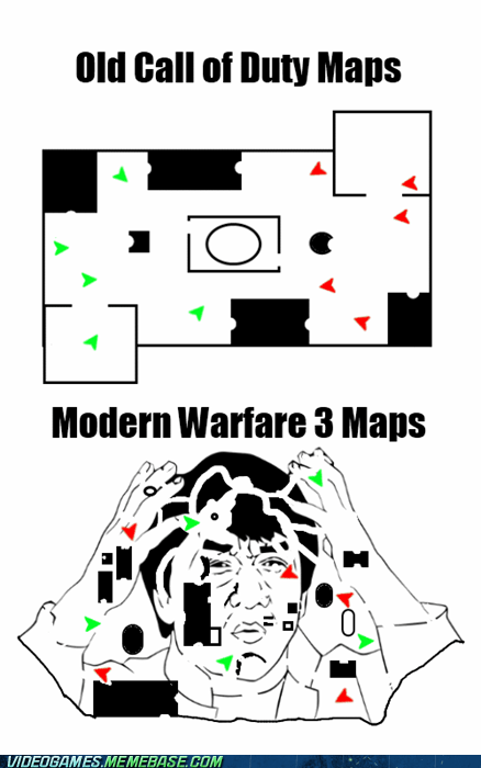 call of duty FPS Maps meme modern warfare Modern Warfare 3 - 6134146304
