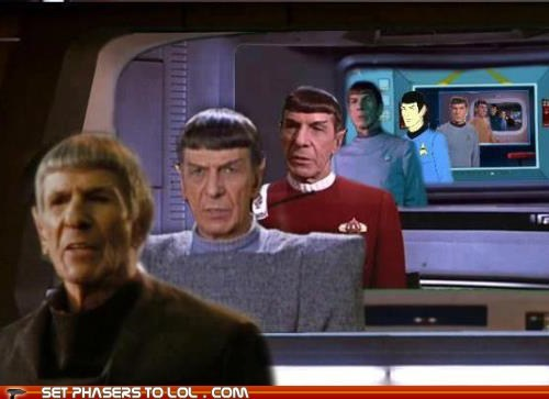 ages Growing Leonard Nimoy old Spock Star Trek time - 6134595840