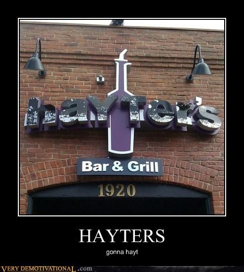 bar,grill,hayt,hayters,hilarious