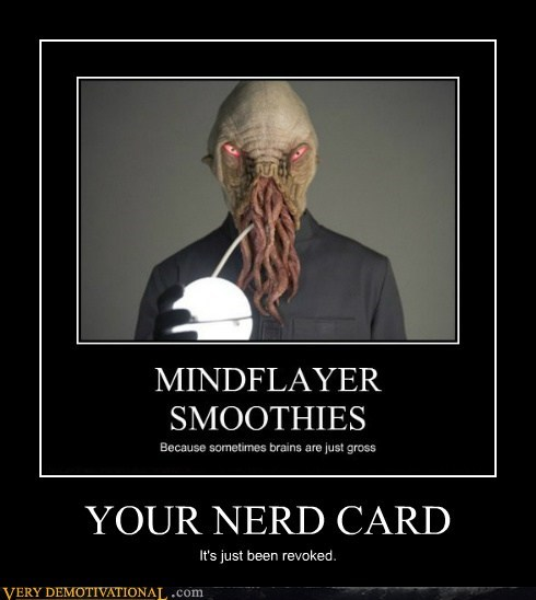 doctor who,mind flayer,nerd,Terrifying