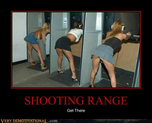 booty guns hilarious Sexy Ladies shooting range - 6135515904