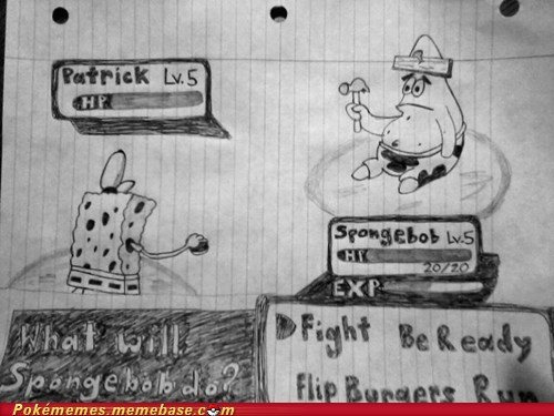 art awesome drawing patrick SpongeBob SquarePants - 6135666432