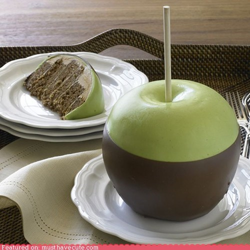cake,caramel apple,epicute,giant,stick