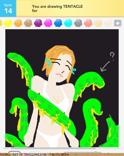 draw something ive-seen-enough-japanese ive-seen-enough-japanese-entertainment Memes tentacle that looks naughty - 6135977984