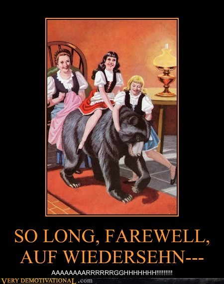 auf weidersehn farewell hilarious so long sound of music - 6136463872