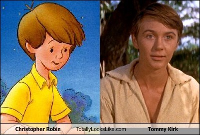 christopher robin funny TLL tommy kirk - 6136695040