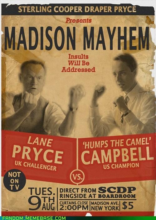 campbell Fan Art mad men pryce TV - 6136805632