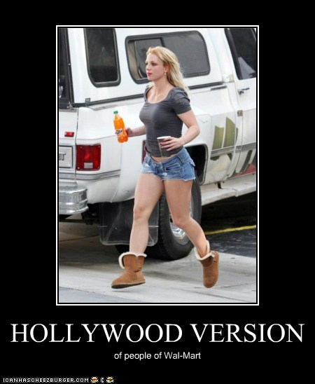 HOLLYWOOD VERSION of people of Wal-Mart